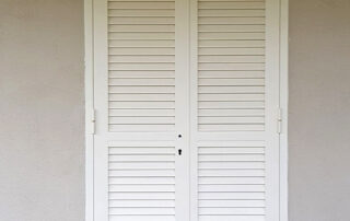 Persiana blindata acciaio porta finestra
